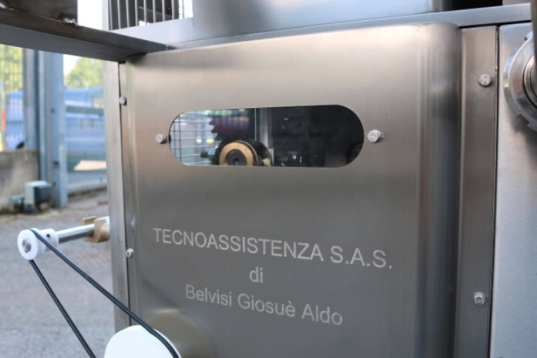 DOUBLE SHEET RAVIOLI FORMING MACHINE model TECNOASSISTENZA 250