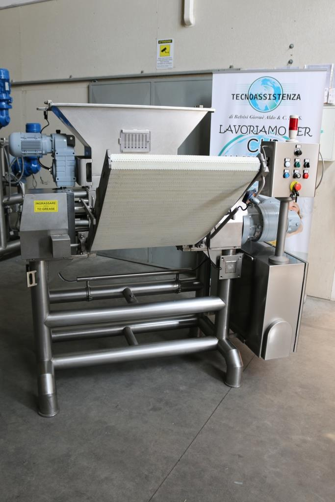 FRONT-DELIVERY AUTOMATIC SHEETER MACHINE mod. Agnelli 500