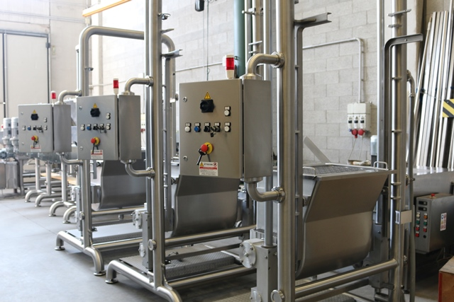 IMPASTATRICE RIBALTABILE Industria 4.0