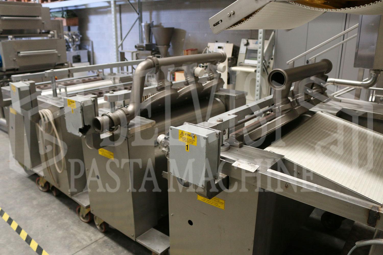 DOUBLE SHEET RAVIOLI FORMING MACHINE MODEL AGNELLI 800